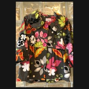 Flowered Jacket